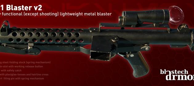 E-11 Aluminum Blaster, basierend auf Sterling L2A3 / Mk.4